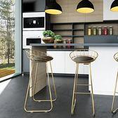 吧椅鐵藝創意酒吧椅高腳椅 現代簡約吧凳 GB4817『樂愛居家館』TW