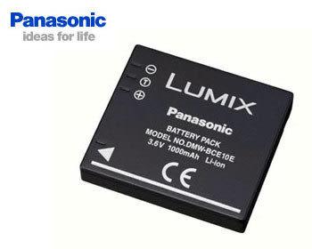 PANASONIC DMW-BCE10 / S008 / S008E 原廠鋰電池 有包裝 (3期0利率 免運 台灣松下公司貨) 3.6V 1000mah