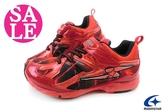 Moonstar 月星 大童運動鞋SUPERSTAR 2E寬楦 競速機能鞋F9610#紅 零碼出清