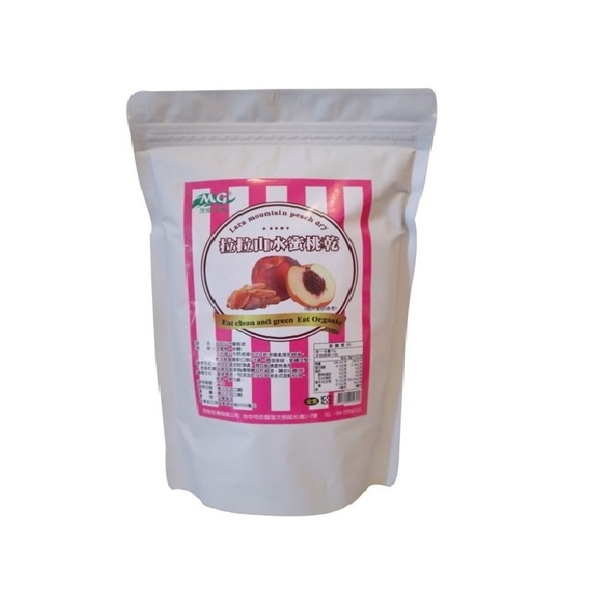 拉拉山水蜜桃乾250g 清新自在