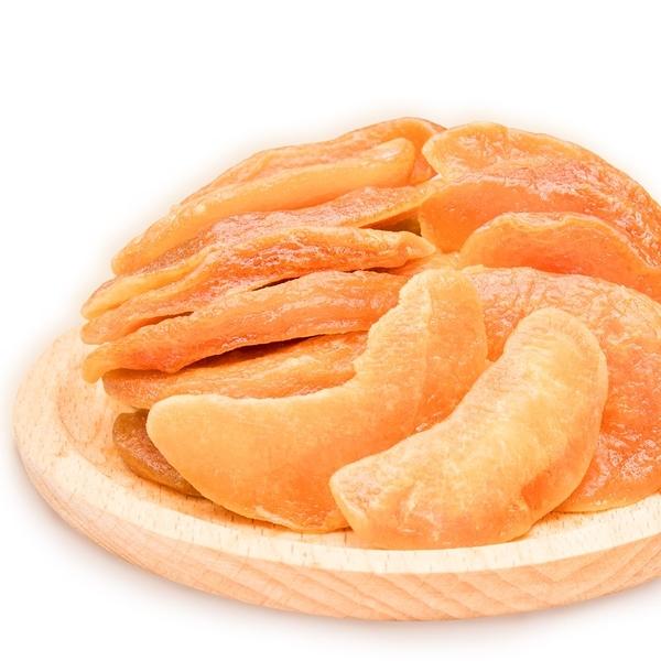 橙姑娘 菓然幸福水果干 果乾【水蜜桃干】口感Q彈 減糖低卡,SGS認證無色素香料[單包優惠]