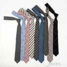 韓版學生tb領帶女日繫學院風格子潮學生襯衫復古領帶男職業 【原本良品】