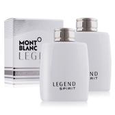 MONTBLANC 萬寶龍 傳奇白朗峰男仕淡香水迷你瓶(4.5ML)X2