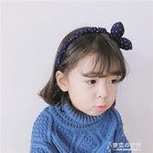兒童發飾可愛蝴蝶結兔耳朵兒童發箍韓國女童頭箍發飾品【東京衣秀】