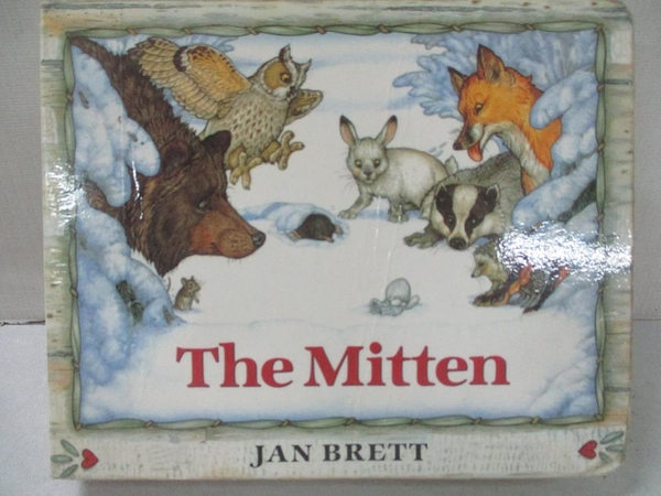 【書寶二手書T1/原文小說_C1V】The Mitten: A Ukrainian Folktale_Brett, Jan