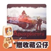 i2 艾思奎極地猿人超薄滑鼠墊-02 (附贈收藏公仔)