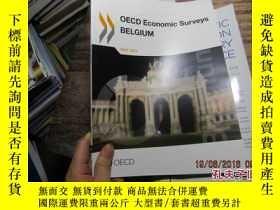 二手書博民逛書店oecd罕見economic surveys belgium m