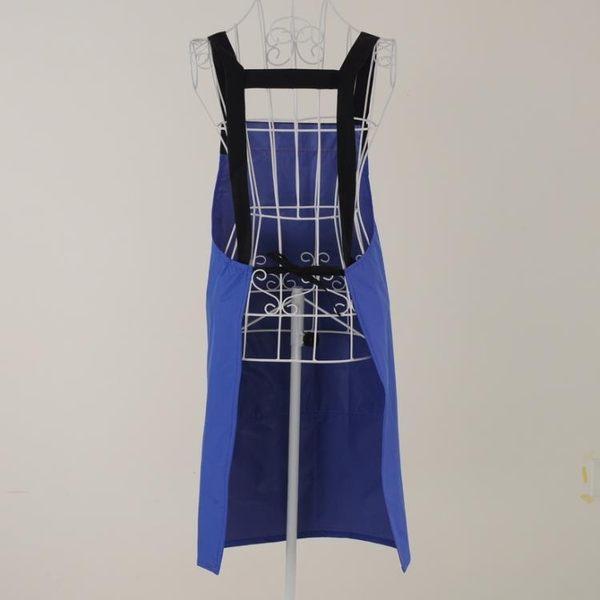 [超豐國際]防水圍裙無袖防油防燙圍裙女士做飯袖套炒菜裙圍反穿