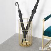 北歐鐵藝雨傘架 商用酒店大堂雨傘桶家用立傘收納置物架傘筒 BT9988【彩虹之家】
