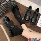 皮鞋 小皮鞋女夏潮2021新款日系洛麗塔圓頭網紅英倫風瑪麗珍單鞋 618狂歡