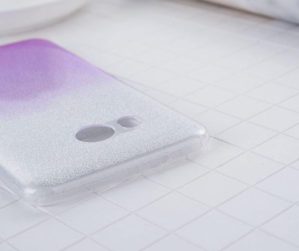 閃粉漸層 HTC U11 手機殼 X10 保護套 Desire 10 Pro 漸變 軟殼 透明殼 矽膠套 防摔 全包丨麥麥3C