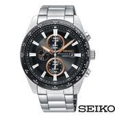 SEIKO 精工 SSC649P1 (V176-0AV0D) 太陽能 三眼計時 男錶