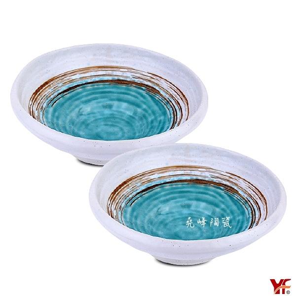 [堯峰陶瓷 ] 日式餐具 綠如意系列 8吋圓缽(兩入) |沙拉碗|水果碗|冰品碗|套組餐具系列