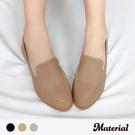 包鞋 素面縫線平底包鞋 MA女鞋 T8029