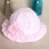 嬰兒帽子漁夫公主女孩遮陽女寶寶太陽帽