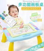 兒童畫板 大號磁性彩色寫字板涂鴉板寶寶幼兒園男女孩益智玩具禮物