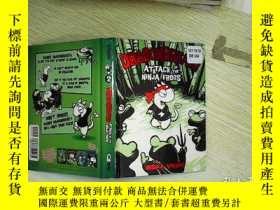 二手書博民逛書店Dragonbreath罕見2 Attack of the Ninja Frogs,Y203004