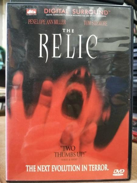 挖寶二手片-P35-037-正版DVD-電影【第三類終結者/DTS版-The Relic】-魔鬼末日導演(直購價)