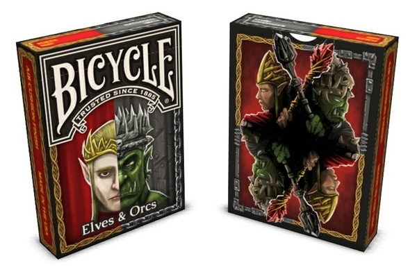 【USPCC撲克】BICYCLE The Elves and Orcs deck 紀念 撲克牌