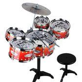 爵士鼓玩具寶寶架子鼓兒童初學者玩具鼓敲打鼓3-6歲打鼓樂器男女tz7825【棉花糖伊人】