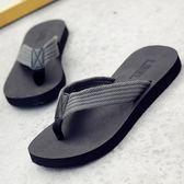 大呎碼涼鞋 夏季防滑沙灘鞋外穿個性室外拖潮韓版軟底夾腳人字拖 GB1358『愛尚生活館』