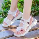 女童涼鞋2020夏季新款時尚小公主軟底防滑兒童公主鞋中大童沙灘鞋