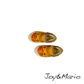 【Joy&Mario】黃色小鴨小童絨毛平底鞋 - 63108C YELLOW
