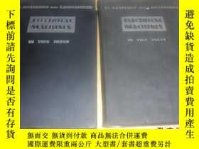 二手書博民逛書店ELECTRICAL罕見MACHINES(電機學),第一 二冊