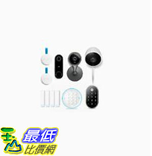 [8美國直購] Nest Secure Alarm System with Cameras and Front Door Bundle