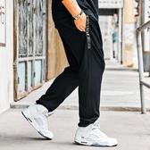大尺碼男褲子 大碼下裝加肥版加大碼大褲襠男胖子吊襠褲男休閒褲潮流長褲【五巷六號】ns7143