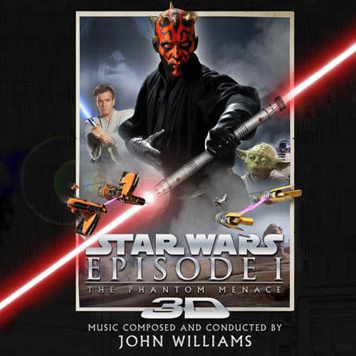 約翰威廉斯 星際大戰首部曲 威脅潛伏3D版 電影原聲帶 CD(購潮8)