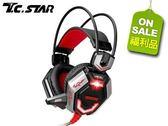【T.C.STAR】電競頭戴式耳機麥克風 TCE9300(福利品)