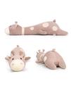 長頸鹿毛絨玩具睡覺抱枕女孩女生床上可愛超軟兒童公仔辦公室玩偶
