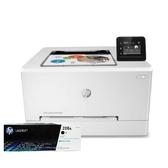 【搭206A原廠碳粉匣一黑】HP Color LaserJet Pro M255dw 無線網路觸控雙面彩色雷射印表機 登錄送好禮