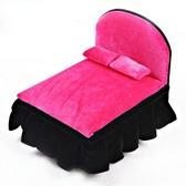 時尚飾品架首飾盒歐式公主小家具收納盒-方床