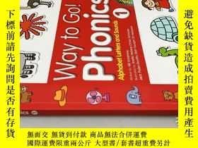 二手書博民逛書店Way罕見to Go! Phonics 1 附2張光碟Y20113 NB Armstrong 請見圖