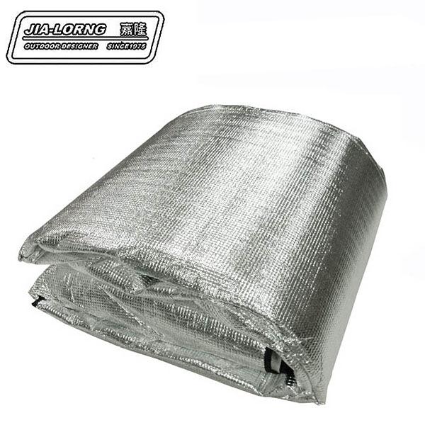 丹大戶外【嘉隆】JIALORNG  3MM 單人鋁箔睡墊 K-6701