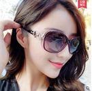 明星款太陽鏡女士2017新款復古圓臉眼鏡Dhh1406【潘小丫女鞋】
