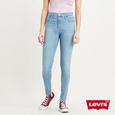 Levis 女款 720高腰超緊身窄管 / 超彈力牛仔褲 / Lyocell天絲棉 / 輕藍染水洗