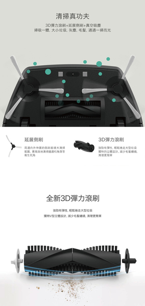 ZEBOT 智小兔 2 負離子掃地機器人 Tubbot 2  Wifi 滾刷版-簡約黑白