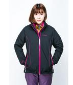【ATUNAS 歐都納】GORE-TEX 兩件式防風防水+羽絨保暖外套★買就贈保暖圍巾一條★(A-G1527W黑色)女