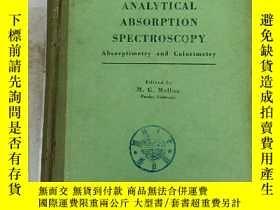 二手書博民逛書店analytical罕見absorption spectrosc