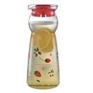 金時代書香咖啡  CafeDeTIAMO 玻璃水壺950ml 紅色草莓(紅) SGS檢測合格  HG2289R