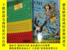 二手書博民逛書店the罕見gorilla nanny:大猩猩保姆Y212829