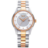 Ogival 瑞士愛其華 豪氣鑽石自動機械腕錶/42mm