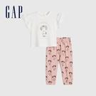 Gap嬰兒 Gap x Star Wars星際大戰系列純棉套裝 704613-白色