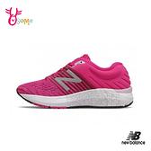 New Balance童鞋 NB童 女鞋可穿 女運動鞋 透氣運動鞋 耐磨 跑步鞋P8436#桃紅◆OSOME奧森鞋業