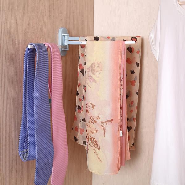 粘貼旋轉毛巾架廚房抹布架衛生間免打孔掛架毛巾架子毛巾杆─預購CH1458