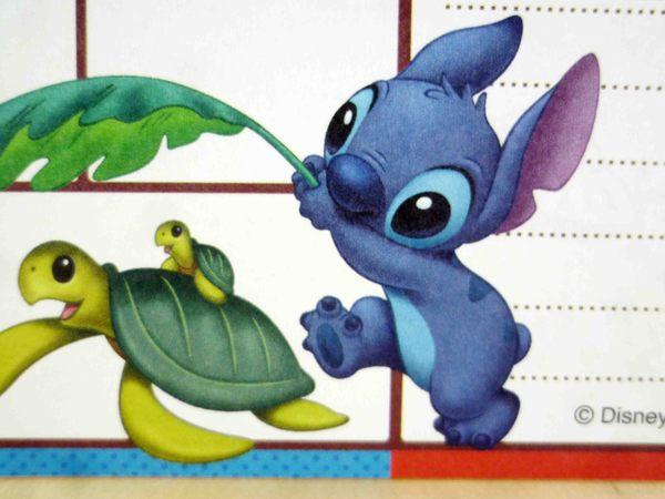 【震撼精品百貨】Stitch_星際寶貝史迪奇~卡片-烏龜