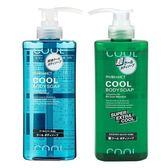 日本 熊野 DEVE 熊野油脂 COOL 酷清涼沐浴乳 (600ml) -LA【K4005804】